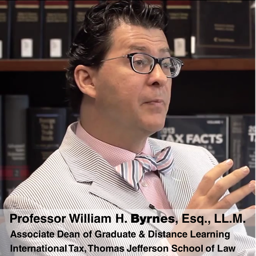 Professor William Byrnes Pioneers Educational Teaching Methodologies to Reverse Declining Law School Enrollment