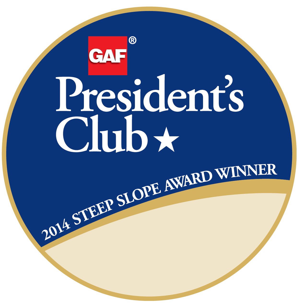 Tortorice Contractors Receives GAF's Prestigious 2014 President's Club Award