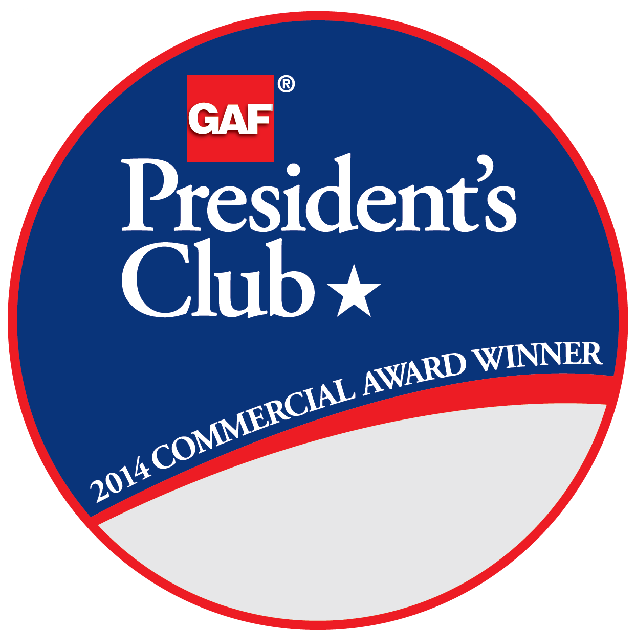 C&S Roofing Company Receives GAF's Prestigious 2014 President's Club Award