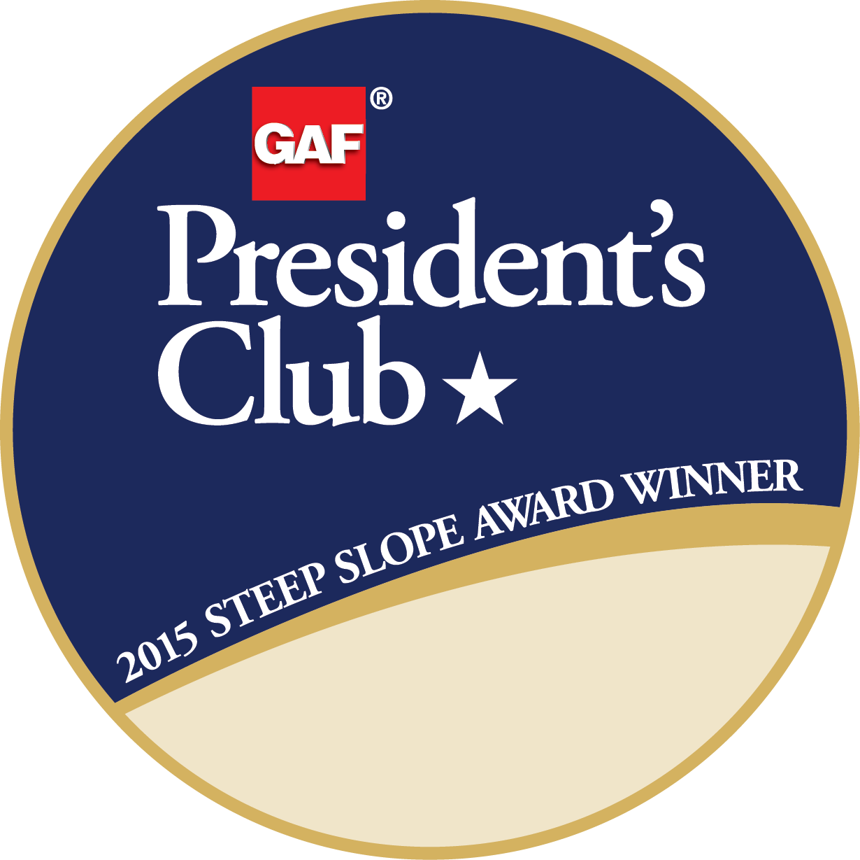 Graves Bros. Home Improvement Receives GAF's Prestigious 2015 President's Club Award