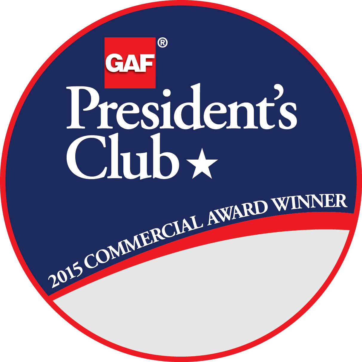 Kentex Roofing Systems Receives GAF's Prestigious 2015 President's Club Award