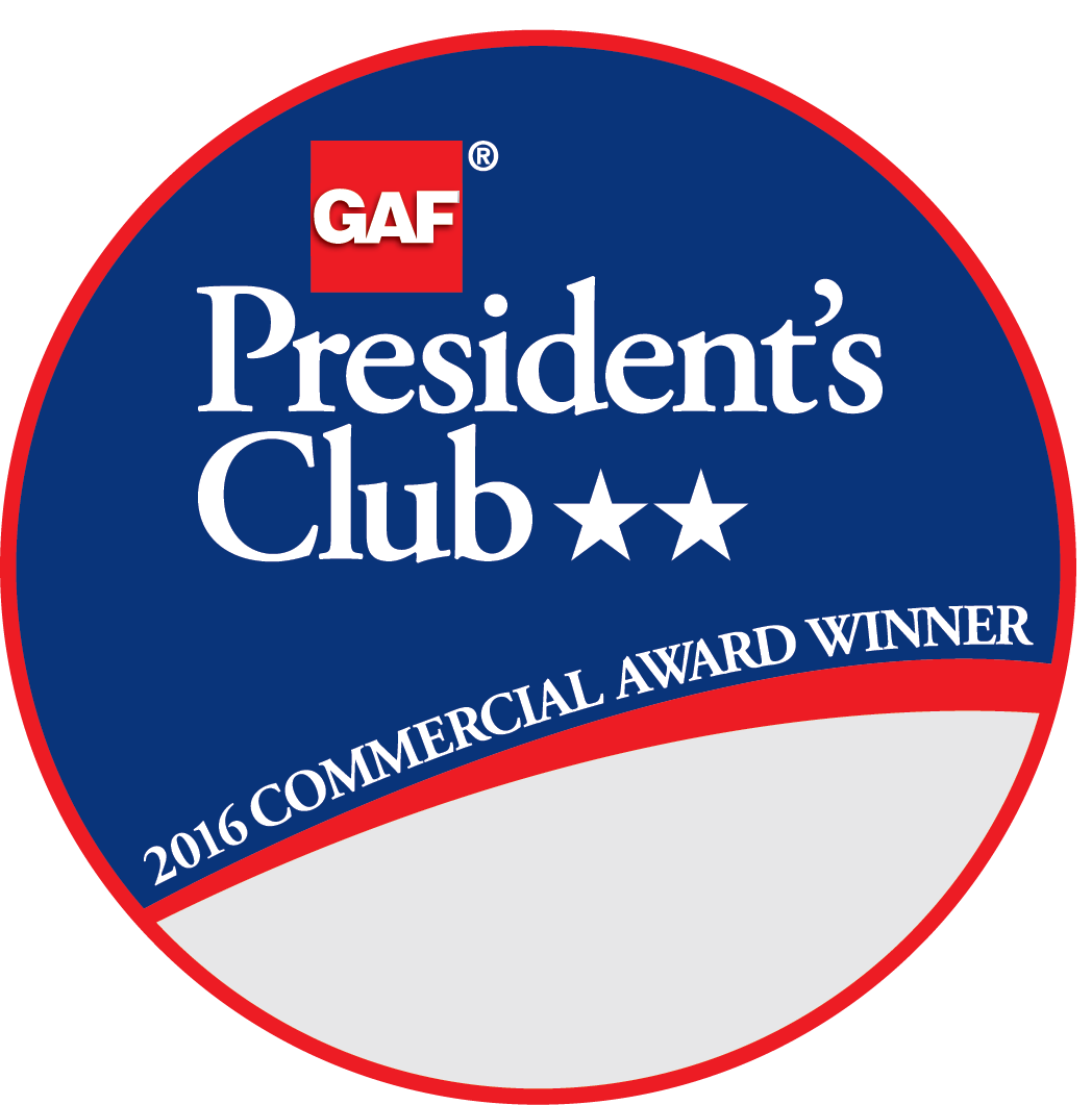 Dezigns Construction Receives GAF's Prestigious 2017 President's Club Award