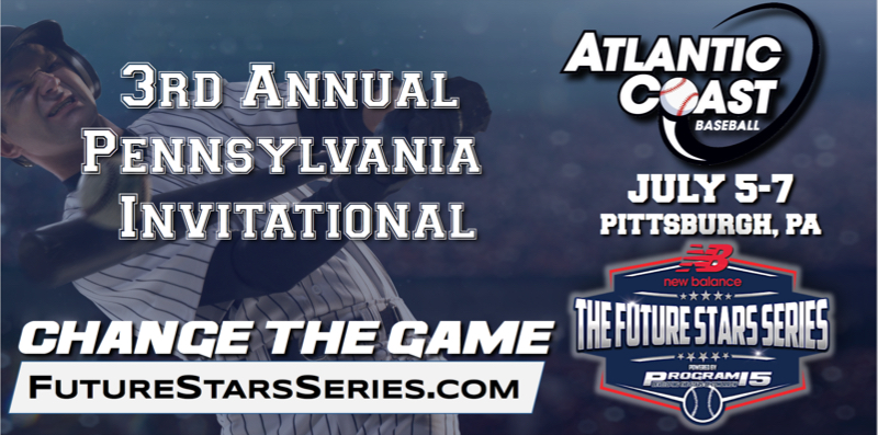 PROGRAM 15 Brings New Balance Future Stars Series MLB Level Scouting to Pittsburgh for the 2019 Atlantic Coast Baseball Pennsylvania Invitational
