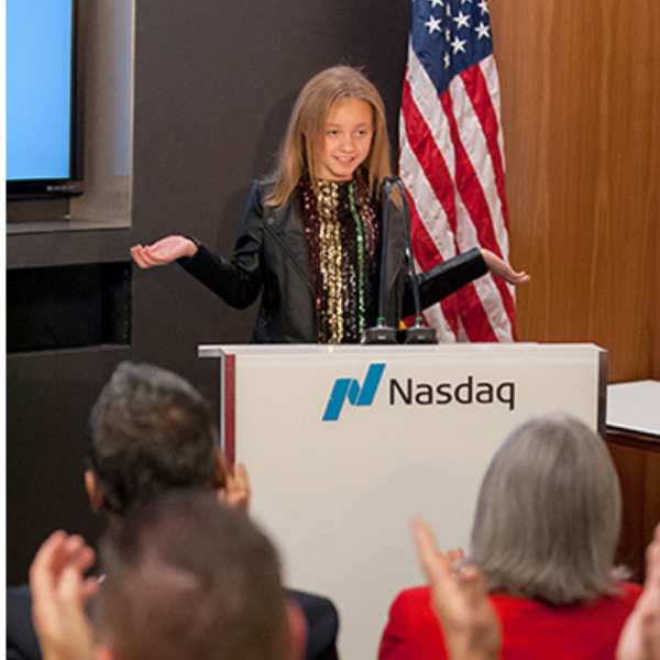 Victoria Branton Shares Wisdom for Parents at NASDAQ Program