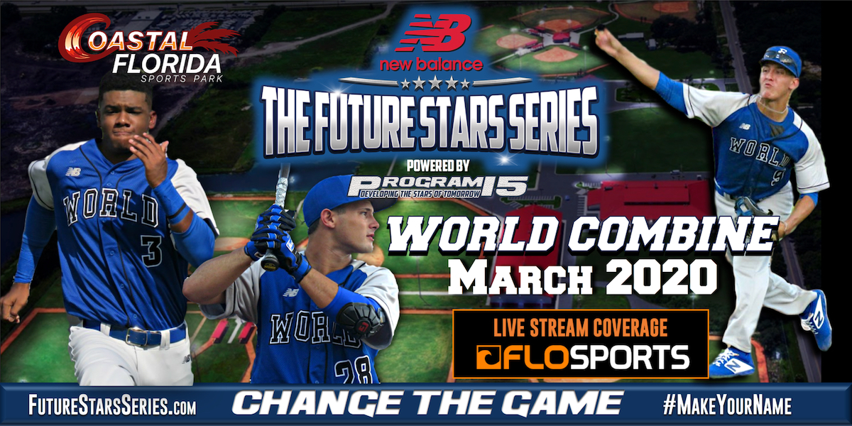 PROGRAM 15 Announces Expanded Search For International Amateur Baseball Talent In 2020 With The New Balance Baseball Future Stars Series World Combine
