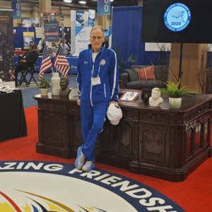Global Friendship Ambassador And Runner, Stan Cottrell, Named Honorary Chairman Of The World Chamber of Commerce