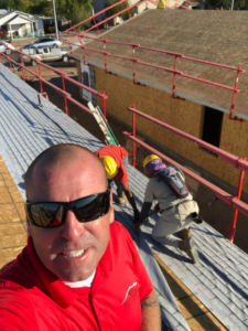 Jason Kill Of Roofing Solutions And Concepts Donates Roof To Habitat For Humanity House In Phoenix