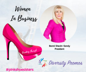 Bonni Shevin-Sandy, President of Diversity Promos and Best-Selling Author, Signed A New Book Deal with T & S Publishing, LP