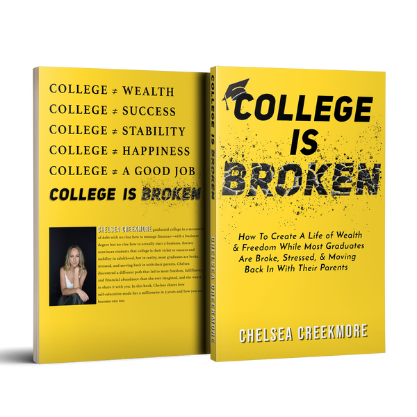 "Chelsea Creekmore Becomes Amazon Best Selling Author with Timely Book, ""College is Broken"""